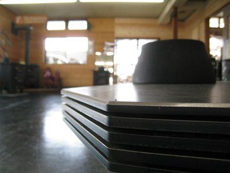 オプション天板のサイドビュー